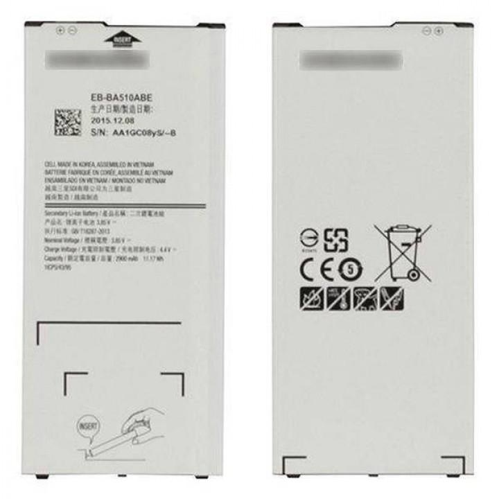 АКБ (Аккумуляторная батарея) для телефона Samsung Galaxy A5 2016 (A510F)(EB-BA510ABE)