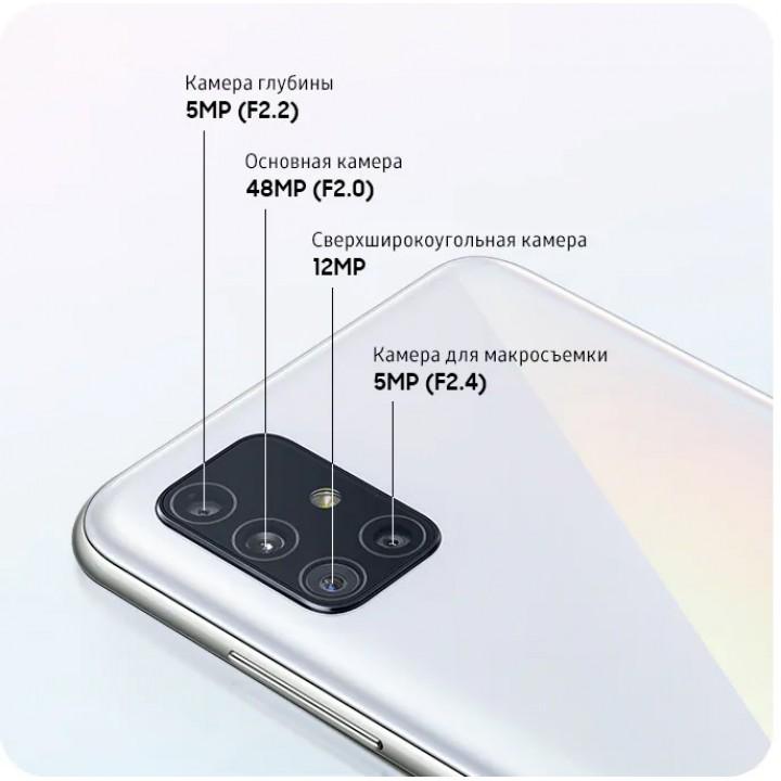 Объектив камеры заднего вида для Samsung Galaxy A51 (SM-A515F)