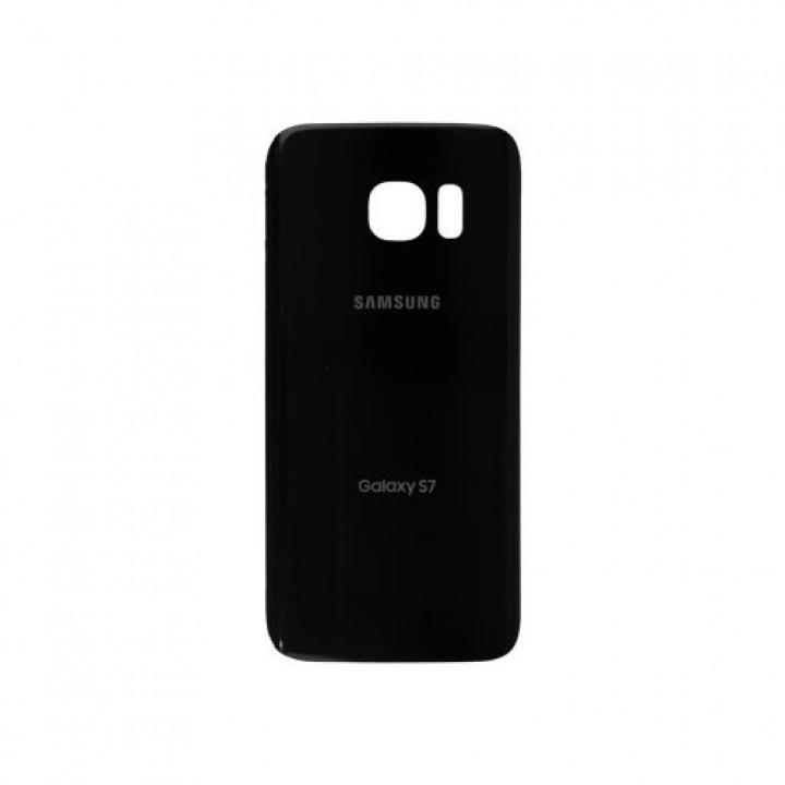 Задняя крышка для Samsung Galaxy s7 G930F чёрная
