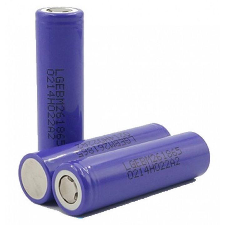 Аккумуляторы LG 18650 2600mAh (INR18650M26)
