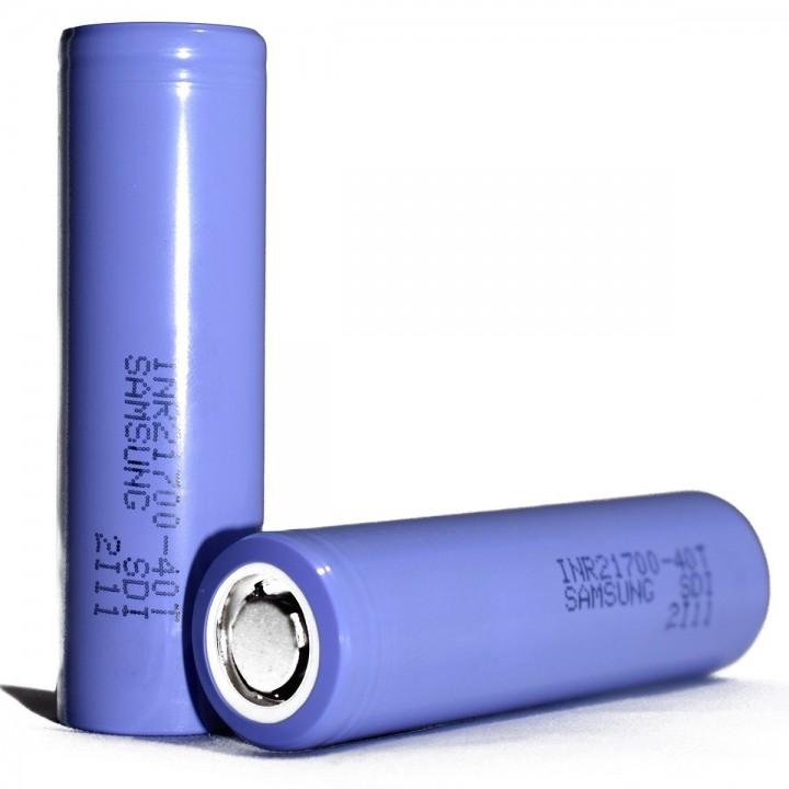 Аккумуляторы Samsung 4000mAh (INR21700-40T 35-50A)
