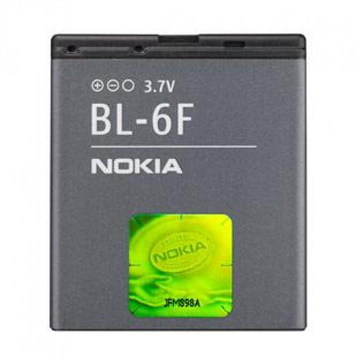 АКБ (Аккумуляторная батарея) для телефона Nokia BL-6F Original