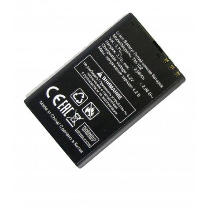 АКБ (Аккумуляторная батарея) для телефона TeXet TM-102