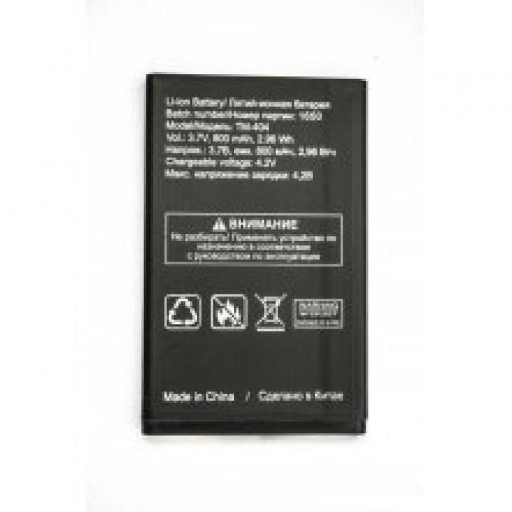 АКБ (Аккумуляторная батарея) для телефона Texet TM-404