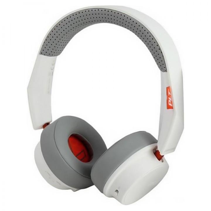 Стерео Bluetooth гарнитура Plantronics Backbeat 500 белый (207840)