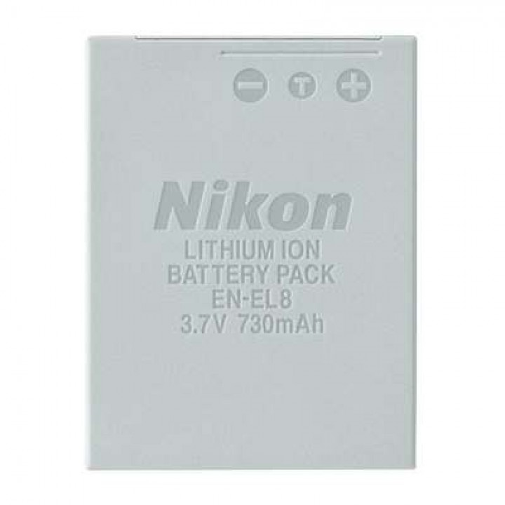АКБ (Аккумуляторная батарея) для цифровых фотоаппаратов Nikon EN-EL8