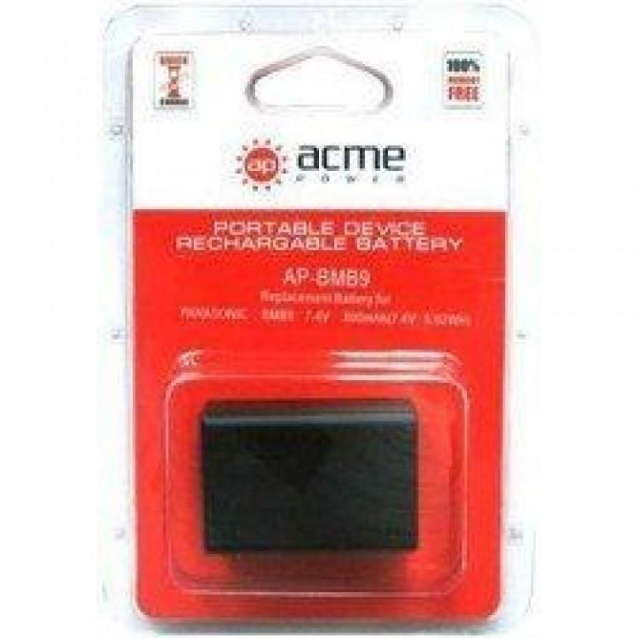 АКБ (Аккумуляторная батарея) для цифровых фотоаппаратов Panasonic DMC-BMB9