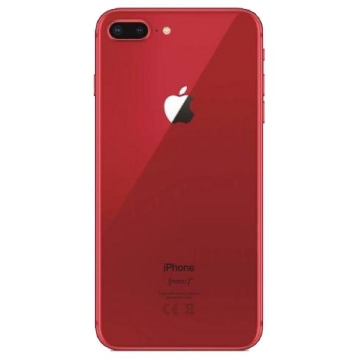 Задняя крышка (стекло) для Apple iphone 8 plus красный