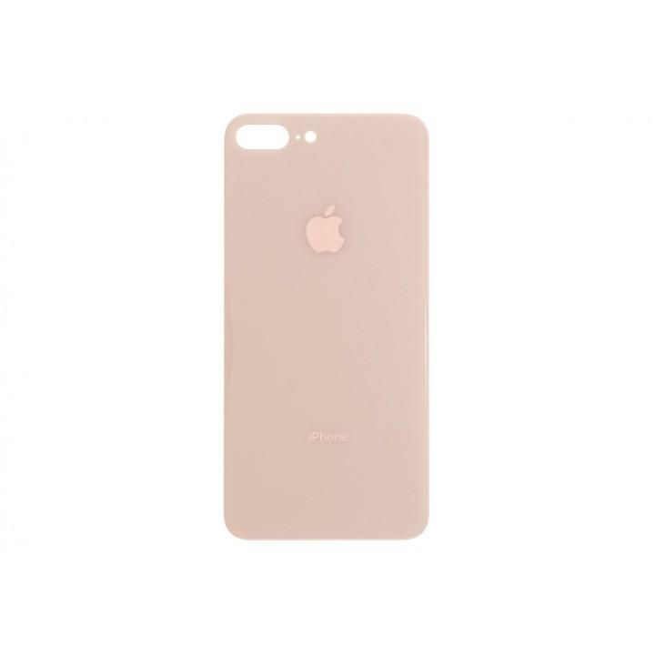 Задняя крышка (стекло) для Apple iphone 8 plus золото