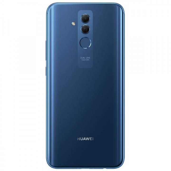Задняя крышка (стекло) для Huawei Mate 20 Lite SNE-LX1 (синий)