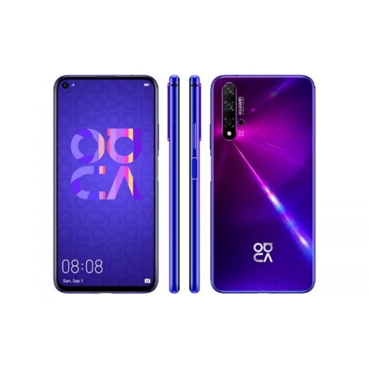 Задняя крышка (стекло) для Huawei Nova 5T (YAL-L21) фиолетовый