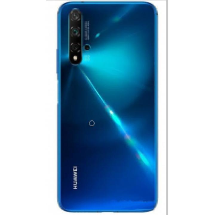 Задняя крышка (стекло) для Huawei Nova 5T (YAL-L21) глубокий синий