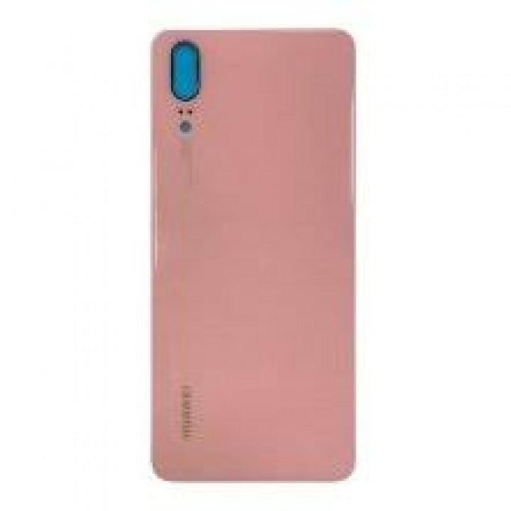 Задняя крышка (стекло) для Huawei P20 (EML-L29, EML-L29C, EML-AL00) розовый
