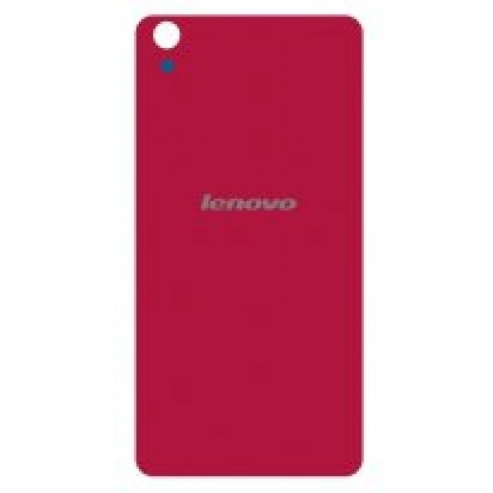 Задняя крышка (стекло) для Lenovo S850 (красный)