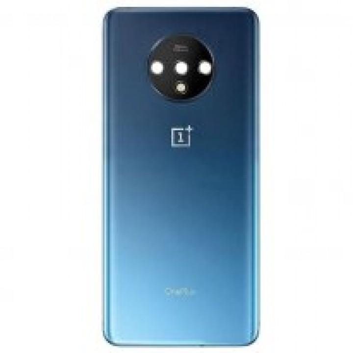 Задняя крышка (стекло) для OnePlus 7T (голубой)