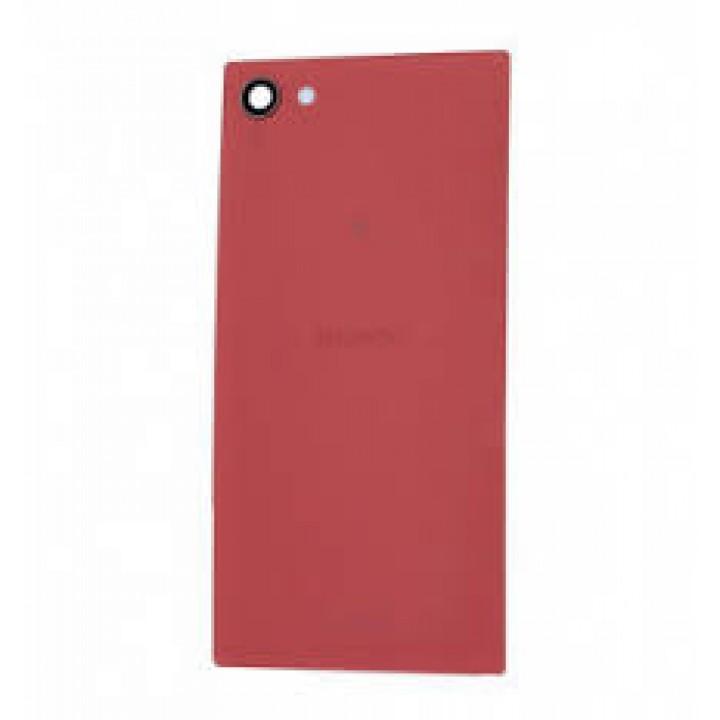 Задняя крышка (стекло) для Sony Xperia Z5 Compact красный
