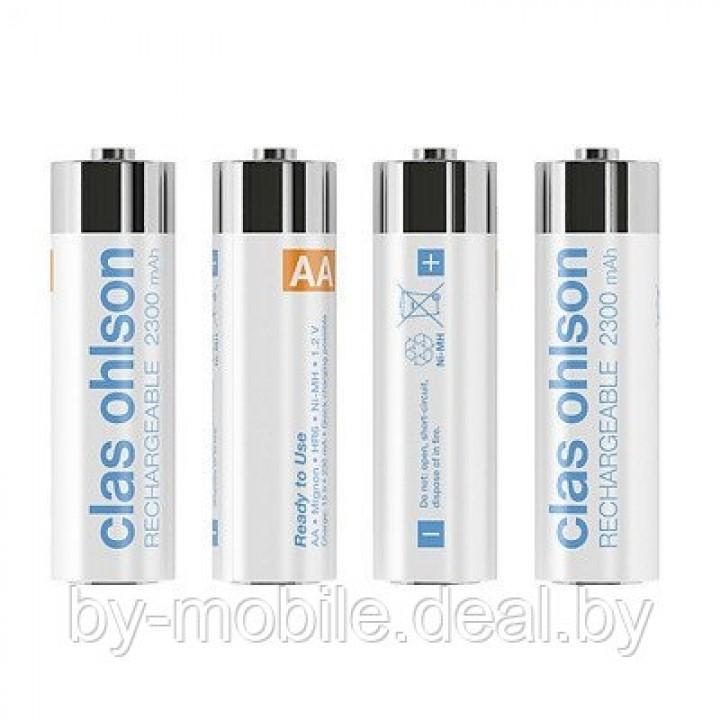 Аккумулятор Clas Ohlson 2300mAh АА NiMh тип AA R06 LR6 LR06 (4 шт. в одной упаковке)