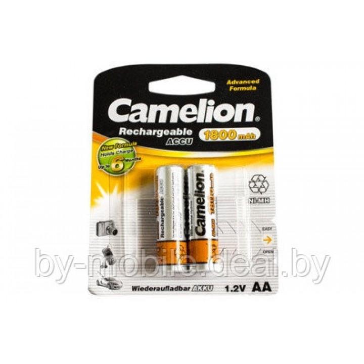 Аккумулятор Camelion 1800mAh АА NiMh тип AA R06 LR6 LR06 (2 шт. в одной упаковке)