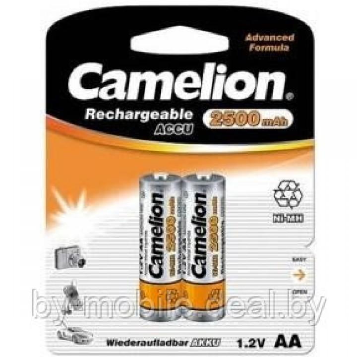 Аккумулятор Camelion 2500mAh АА NiMh тип AA R06 LR6 LR06 (2 шт. в одной упаковке)