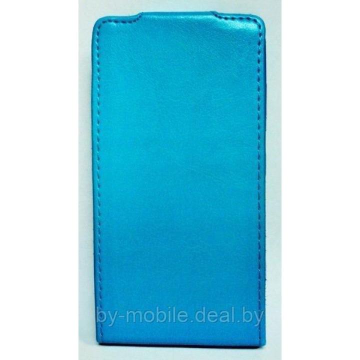 Чехол книга Experts для Nokia Lumia 720 (кожа, бирюзовый)