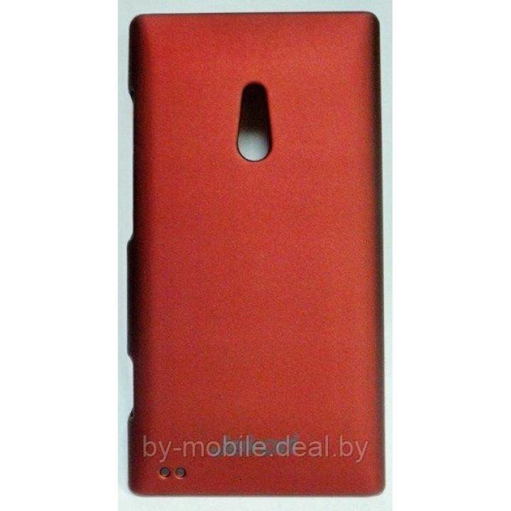 Чехол Jekod case для Nokia Lumia 800 (матовый, бардовый)