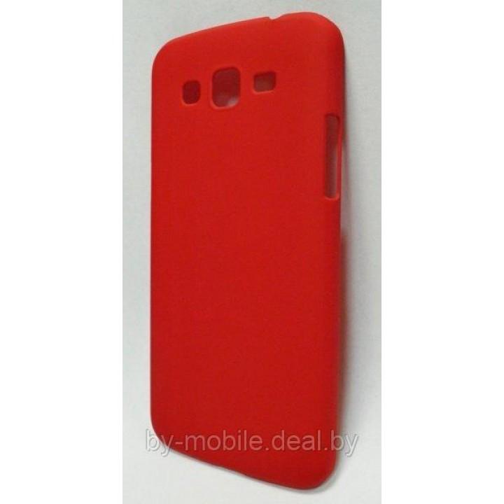 Чехол-накладка Clever Cover Case Samsung Galaxy Grand 2 (G7102) красный