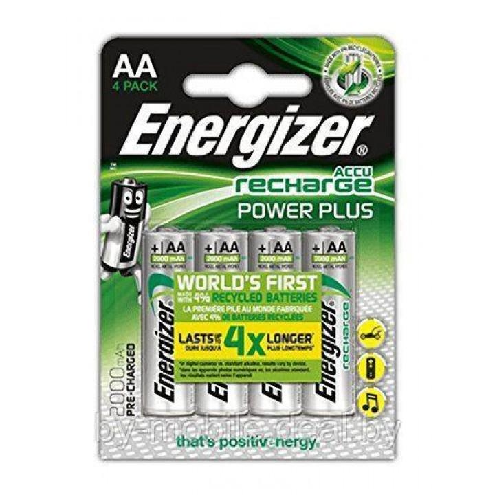 Аккумулятор Energizer Recharge Extreme 2000mAh АА NiMh тип AA R06 LR6 LR06 (4 шт. в одной упаковке)