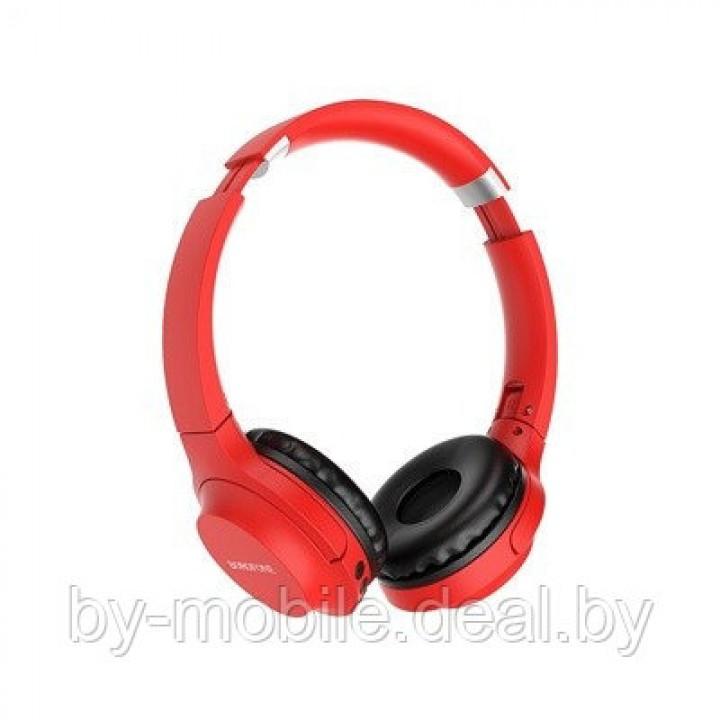 Стерео Bluetooth гарнитура Borofone BO6 (красный)