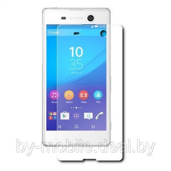 Защитная пленка для Sony Xperia M5 ( глянцевая )