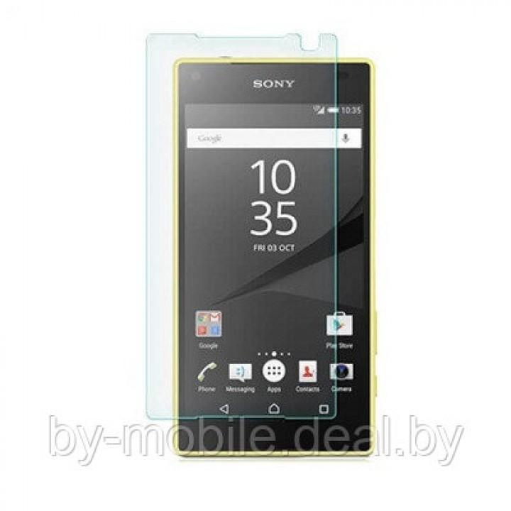 Защитная пленка для Sony Xperia Z5 ( глянцевая )
