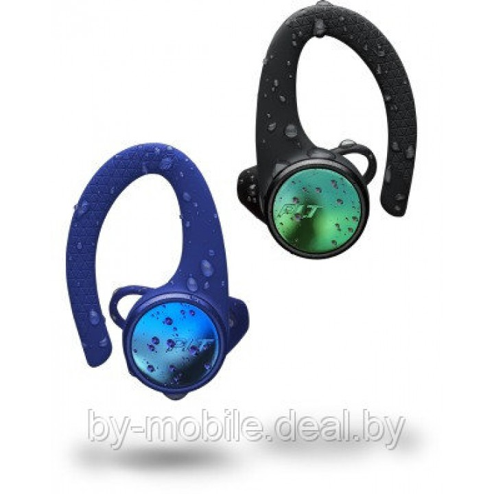 Стерео Bluetooth гарнитура Plantronics BackBeat FIT 3150 (синий, черный)