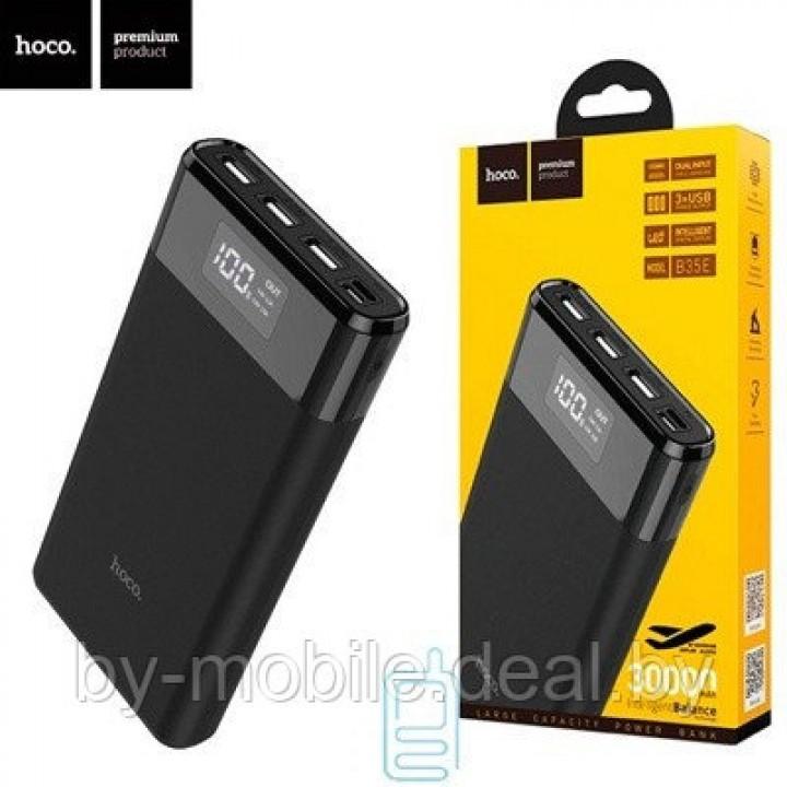 Портативное зарядное устройство Hoco B35e (черный)