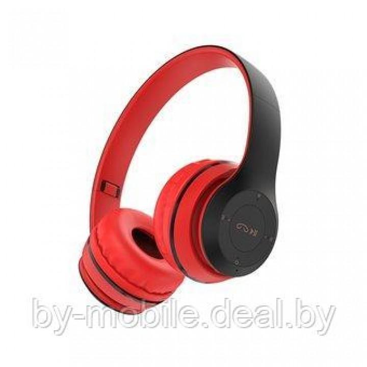 Стерео Bluetooth гарнитура Borofone BO4 (красные)