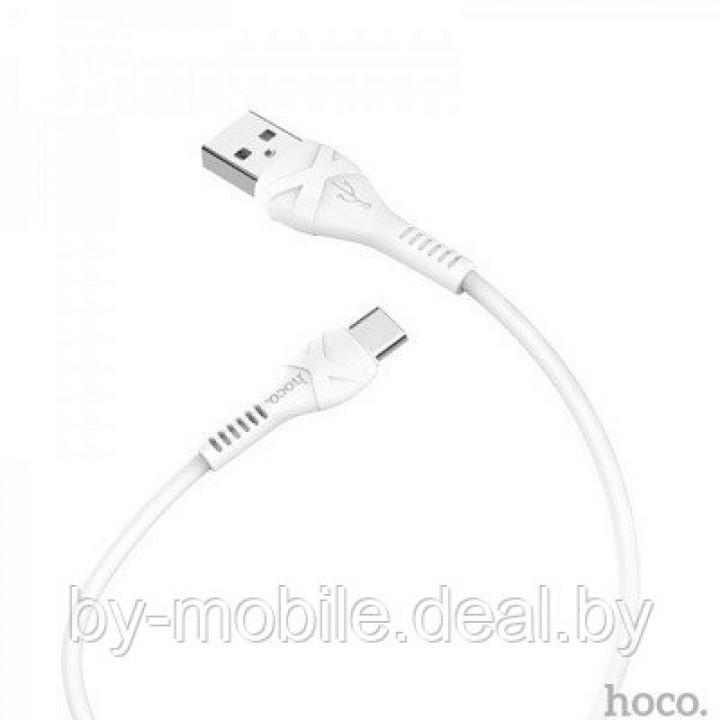 USB кабель Hoco X33 Type-C для зарядки и синхронизации (белый) 1 метра