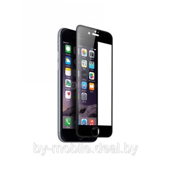 Защитное стекло Apple iPhone 7 plus (черный) 5D