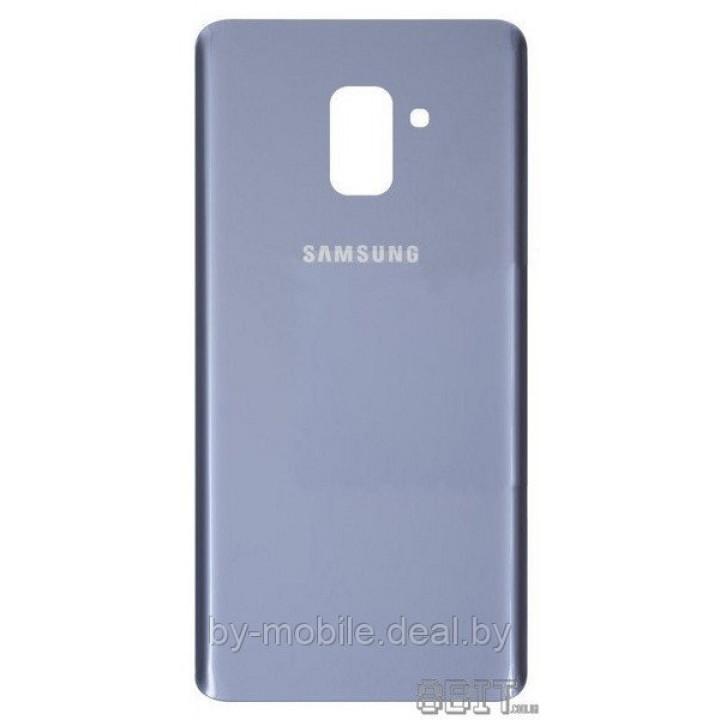 Задняя крышка (стекло) для Samsung Galaxy A8 (SM-A530FZKDSER) серая орхидея