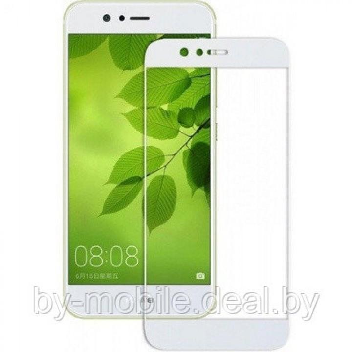 Защитное стекло Huawei Nova 4 (VCE-L22) 5d Белый