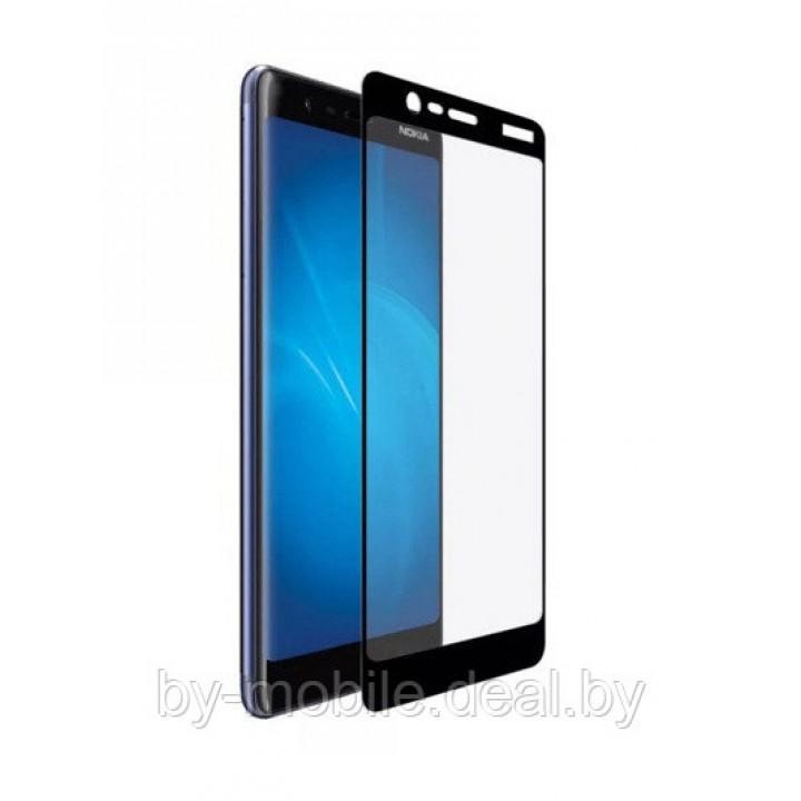 Защитное стекло Nokia 5.1 5D черный