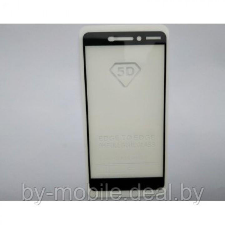 Защитное стекло Nokia 6.0 5D черный