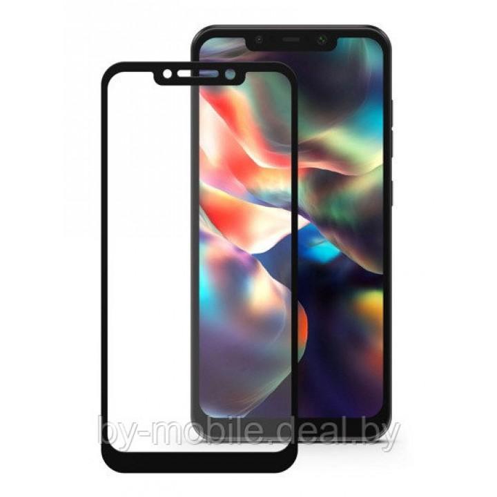 Защитное стекло Xiaomi Pocophone F1 5D черный
