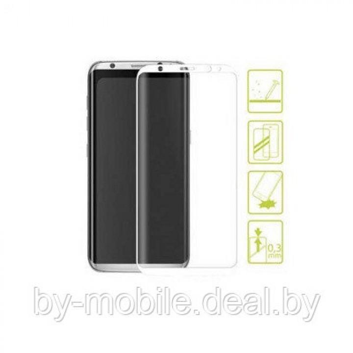 Защитное стекло Samsung Galaxy s8 (SM-G950FD) белый 5D