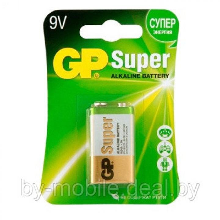 Батарея GP Super (6LR61, 1604A)