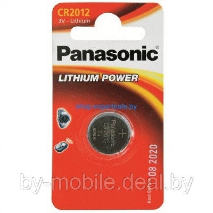Батарейка Panasonic CR2012 CR-2012EL/1B