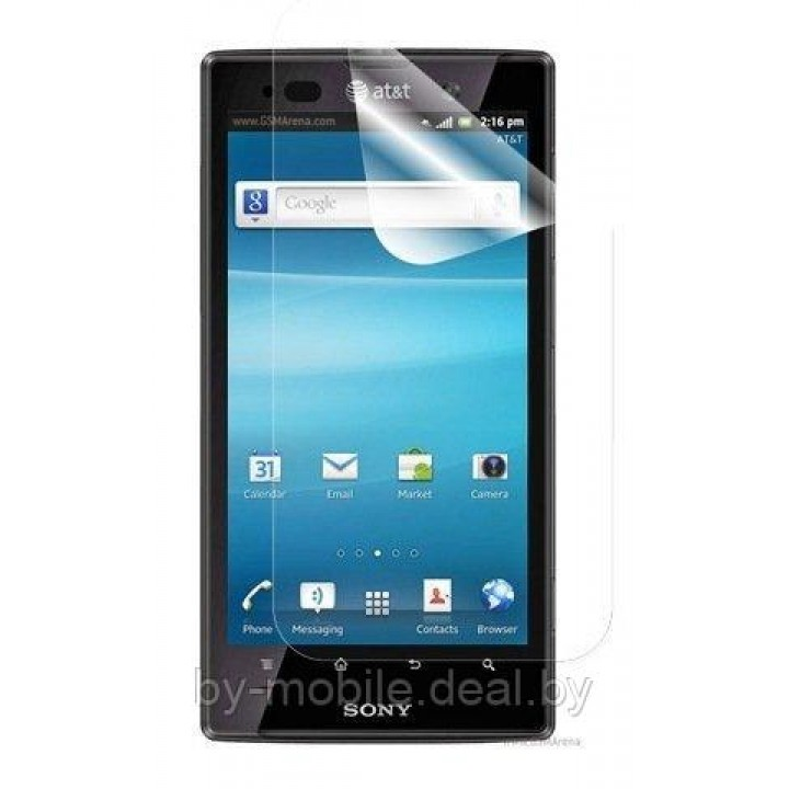 Защитная пленка для Sony Xperia Ion LT28 ( глянцевая )