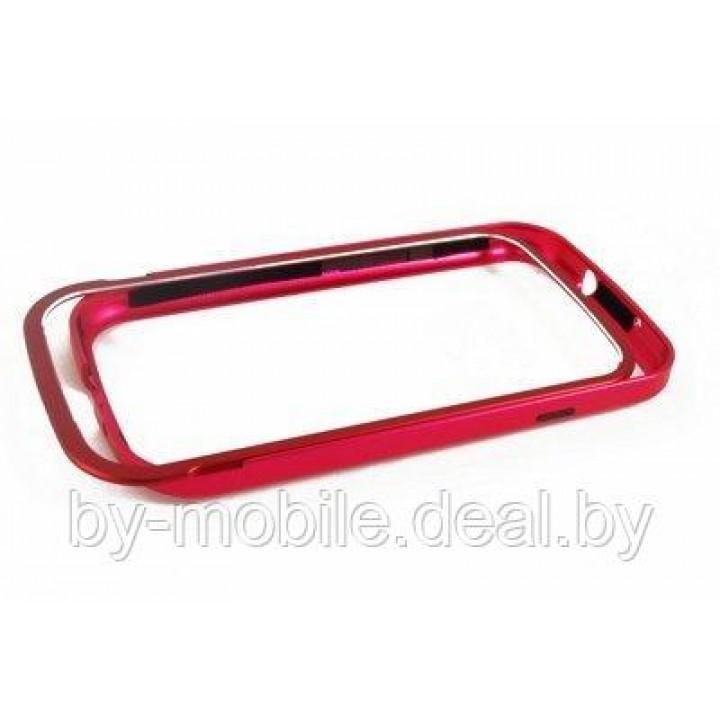 Чехол-бампер пластик Activ RIVER для Samsung i9300 Galaxy S III (красный)