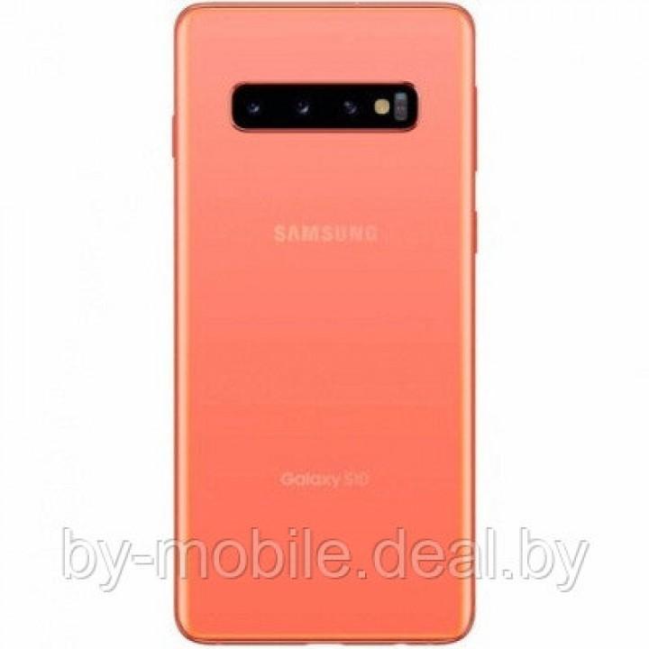 Задняя крышка для (стекло) Samsung Galaxy S10 (G9730) розовый