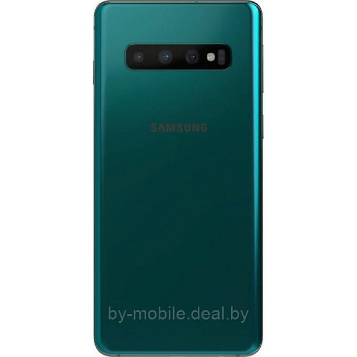 Задняя крышка для (стекло) Samsung Galaxy S10 (G9730) зеленый