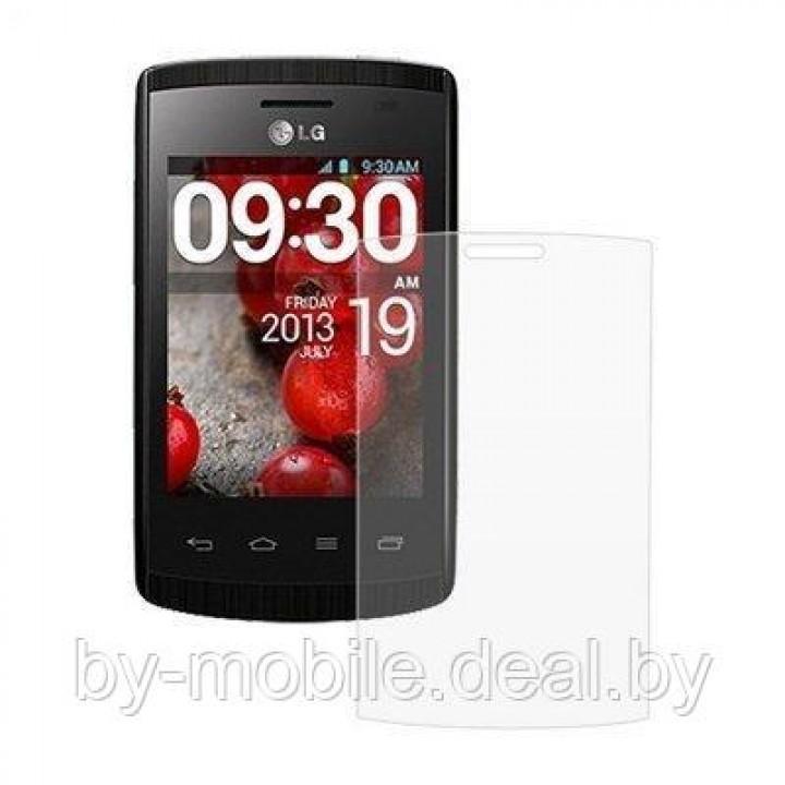 Защитная пленка для LG Optimus L1 II Dual (E420) (глянцевая )