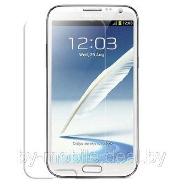 Защитная плёнка для Samsung N7100 Galaxy Note II  (прозрачная )