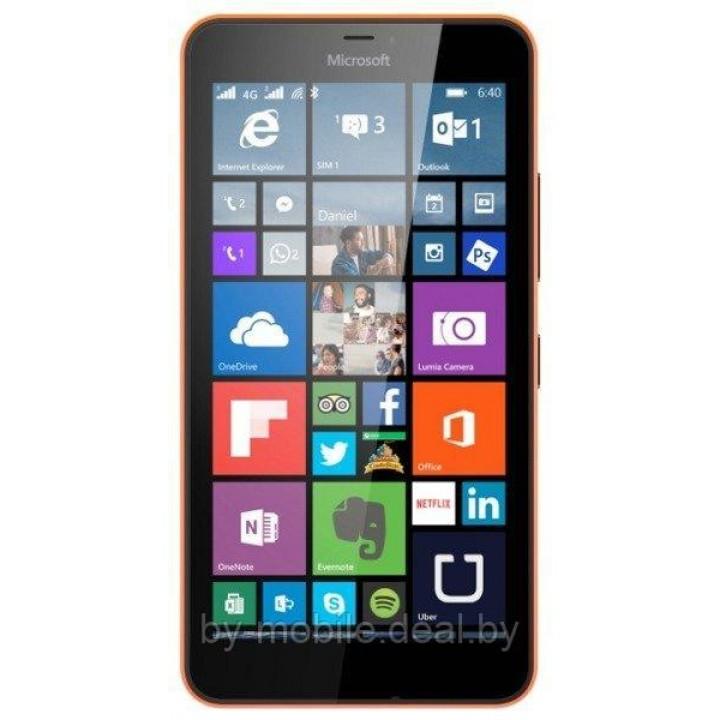Защитная пленка для Microsoft Lumia 640 XL , Lumia 640 XLDual SIM ( глянцевая )
